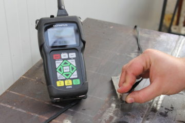 Ultrasonic Examination – Thickness measurement